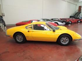 Ferrari Dino 206 alluminio